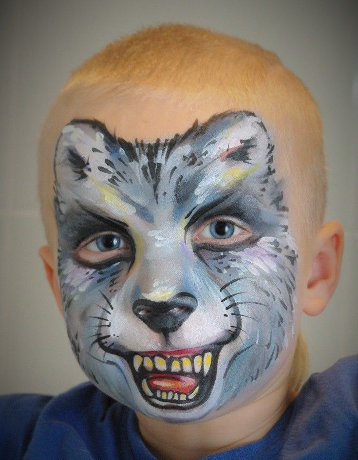 Yüzünde Kolay Yüz Boyama çocukları çizin Boyalı Maskeler Için
