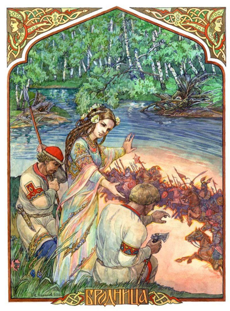 Mara - eski Slavlarda ölüm tanrıçası 26