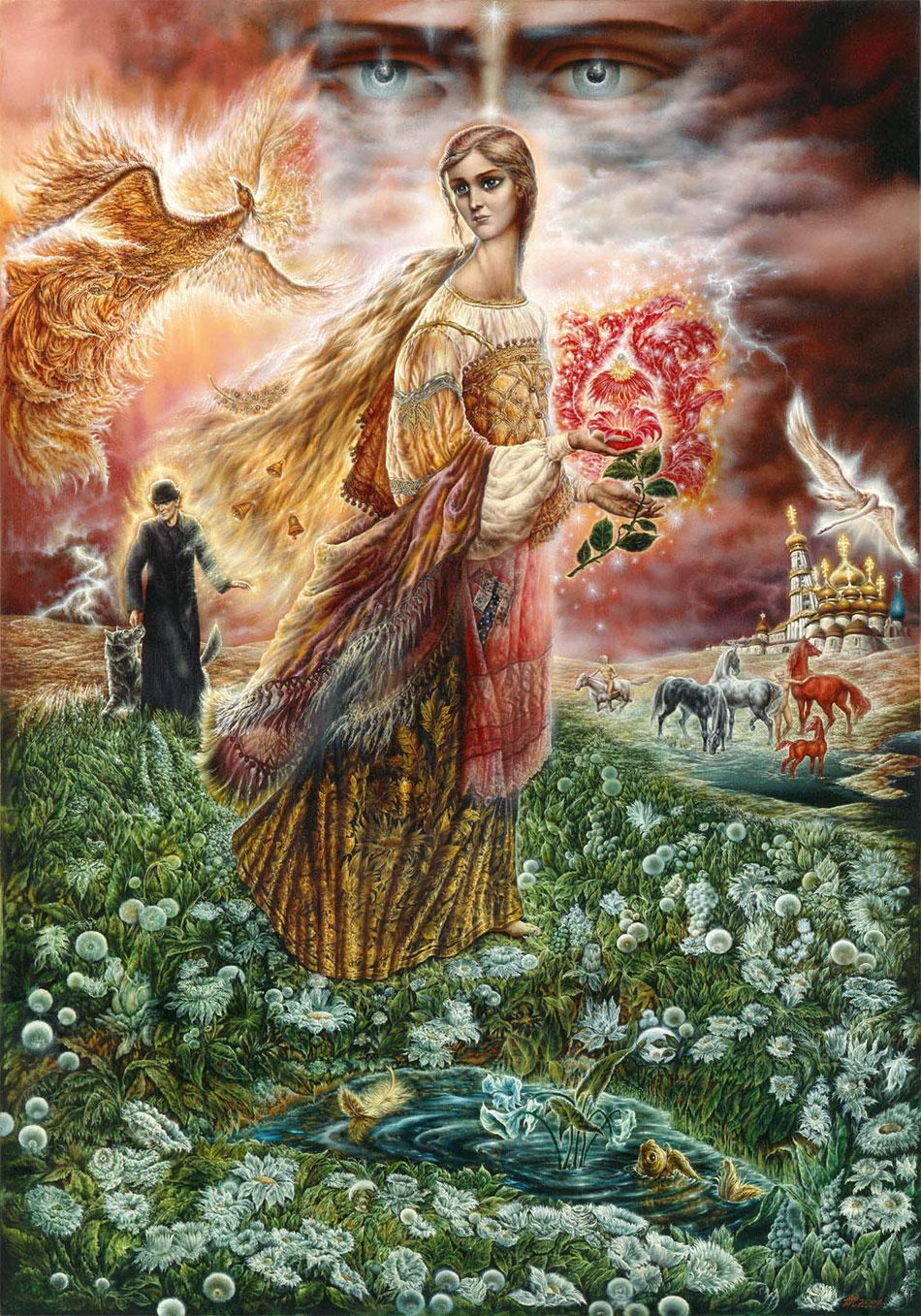 Mara - eski Slavlarda ölüm tanrıçası 64