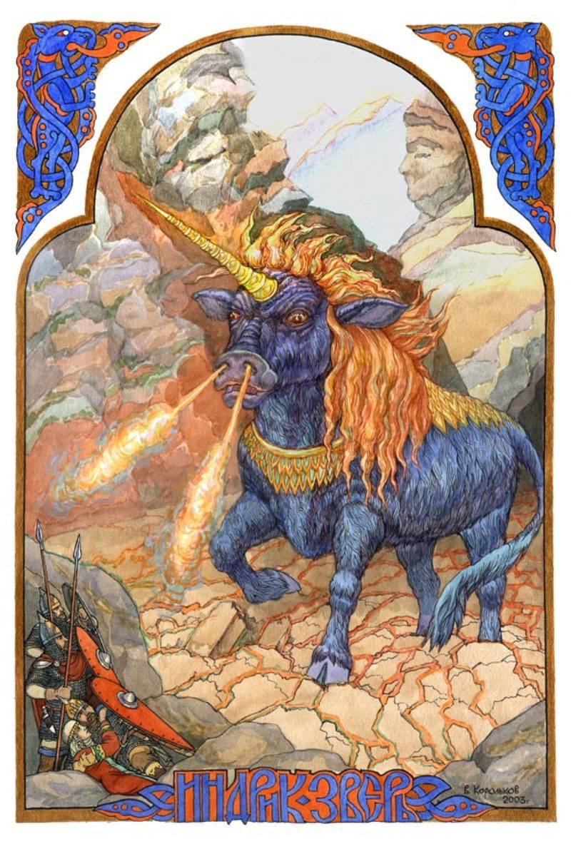 Mara - eski Slavlarda ölüm tanrıçası 20