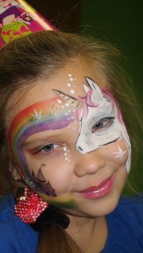 çocuklar Için Yüz Boyama şeması çocuk Yüz Boyama Bir Masal Partisi