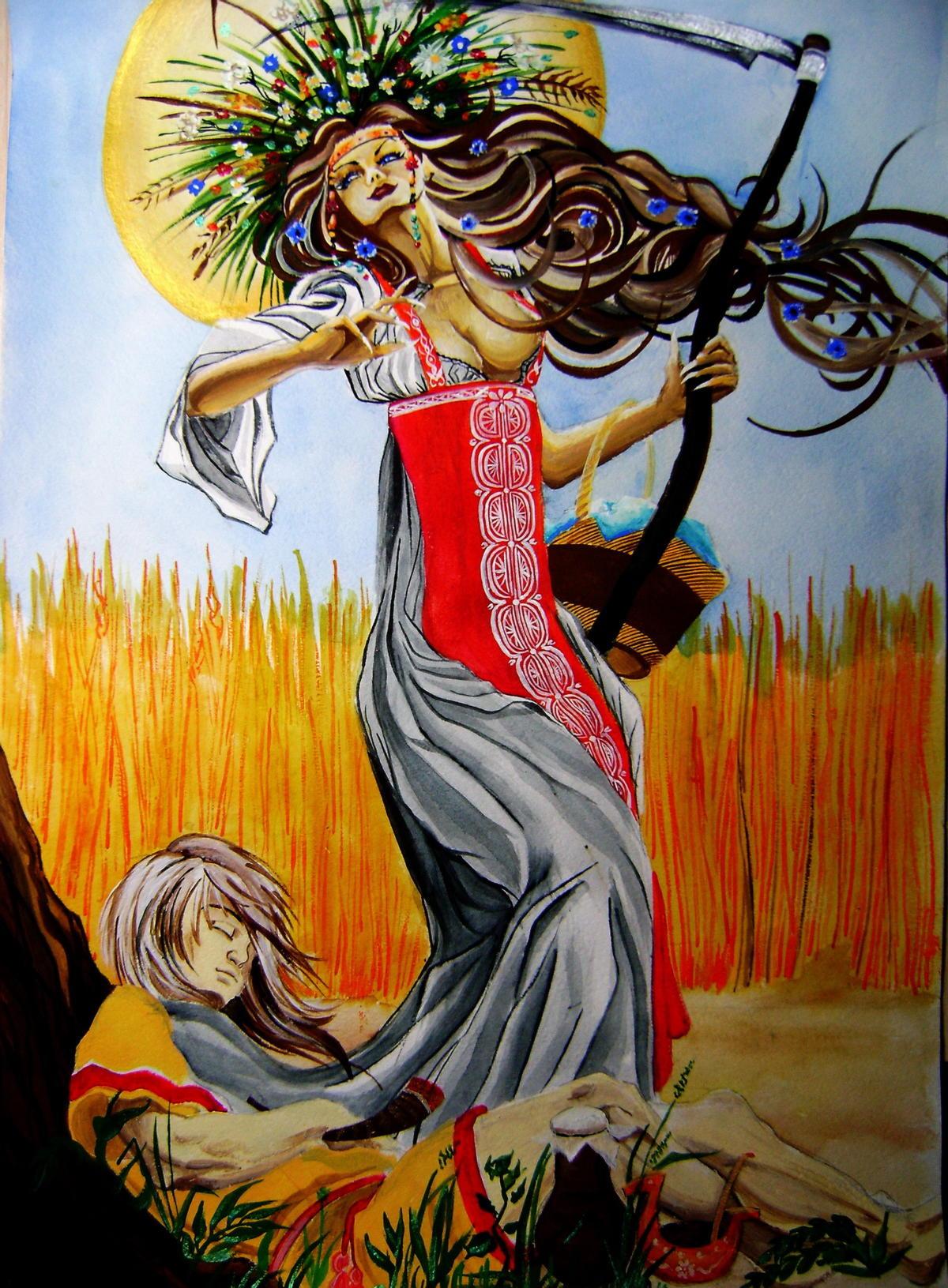 Mara - eski Slavlarda ölüm tanrıçası 51