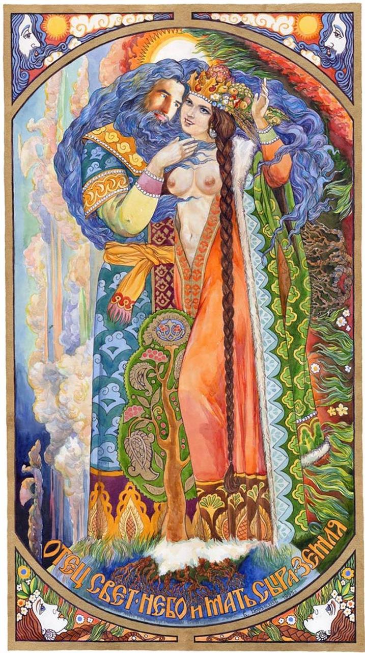 Mara - eski Slavlarda ölüm tanrıçası 99