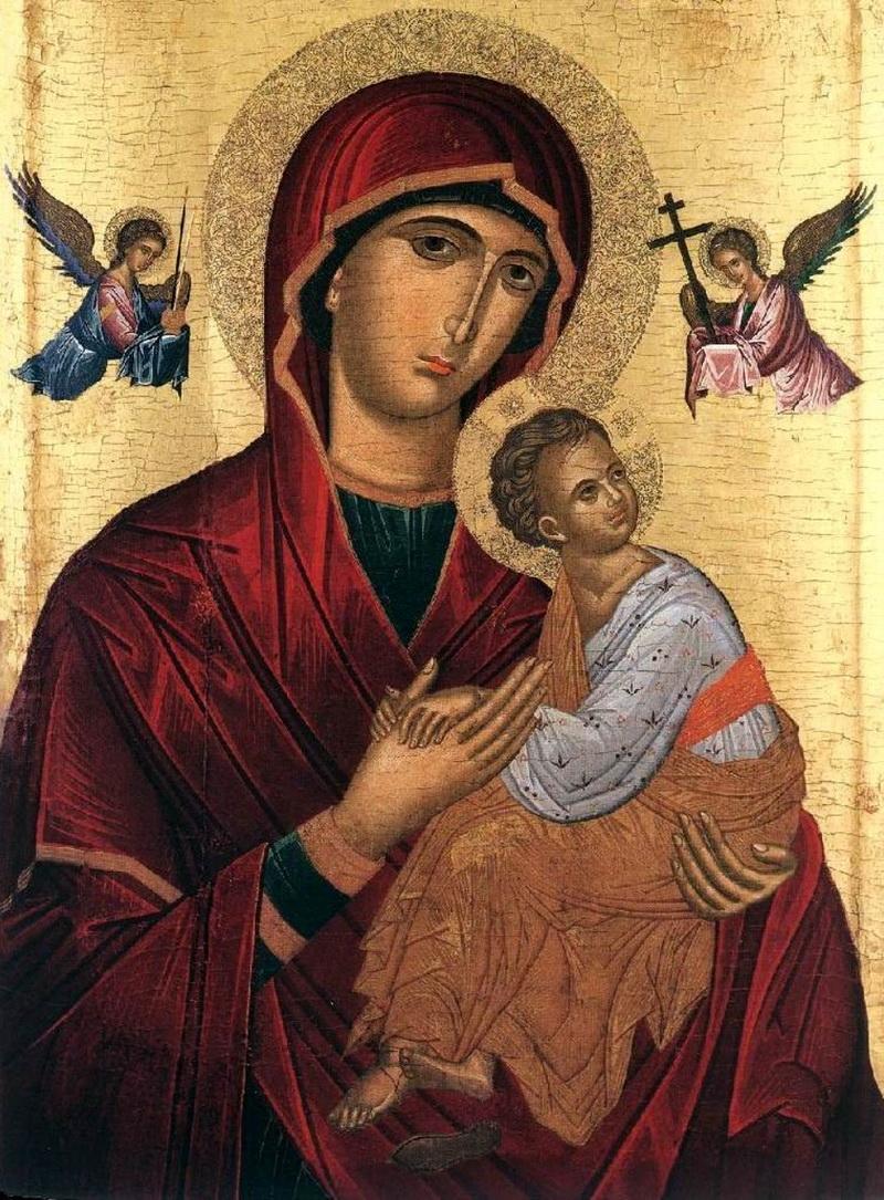 Tanrının Annesinin Eski Rus ikonunun anlamı